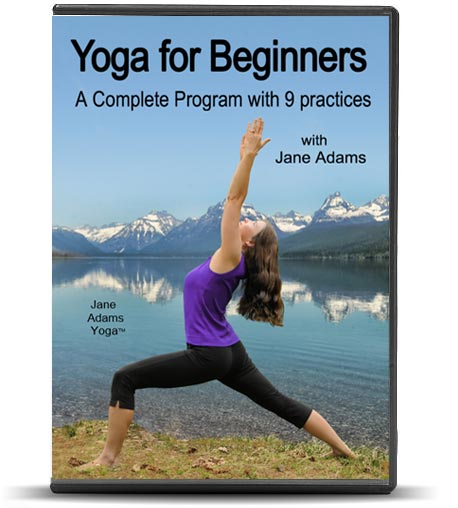 Jane Adams - Yoga for Beginners DVD